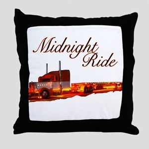Midnight Ride Throw Pillow
