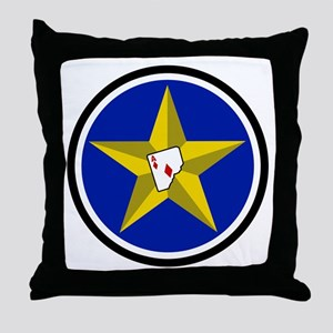 111th Fighter Squadron Throw Pillow