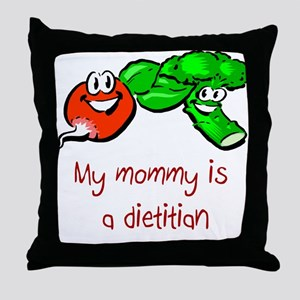 Dietitian Throw Pillow