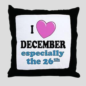 PH 12/26 Throw Pillow