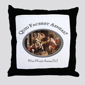 What Would Aeneas Do? Throw Pillow