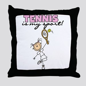Tennis is my Sport Throw Pillow
