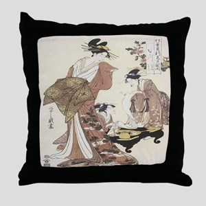 Imperial Lady Throw Pillow