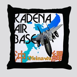 Kadena AB New Design Throw Pillow