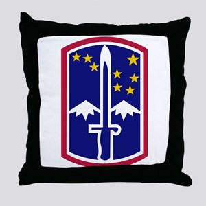1714th Infantry Brigade174th Throw Pillow