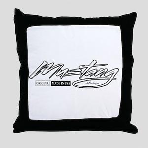 MustangUSA2 Throw Pillow