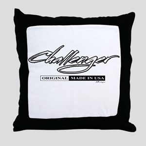 Challenger Throw Pillow