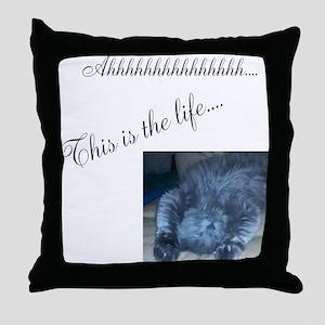 The Life Throw Pillow