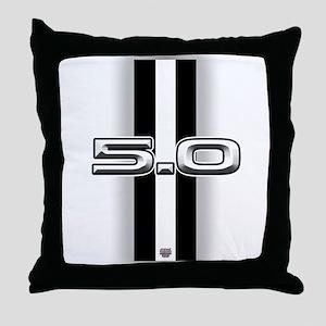 5.0 2012 Throw Pillow