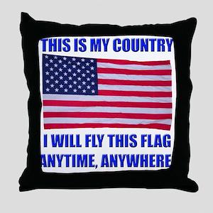 Flag2a Throw Pillow