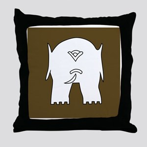 253 L. of C.Sub-Area.1 Throw Pillow