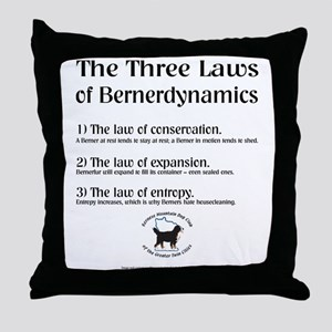 """Three Laws"" Throw Pillow (2 of 2)"