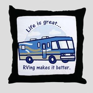 RVinggreat Throw Pillow