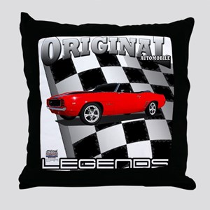 Musclecar 1969 Top 100 Throw Pillow