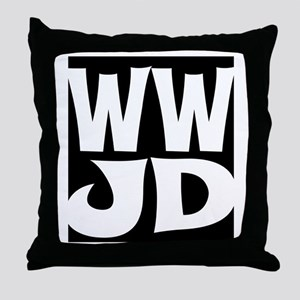 W W J D Throw Pillow