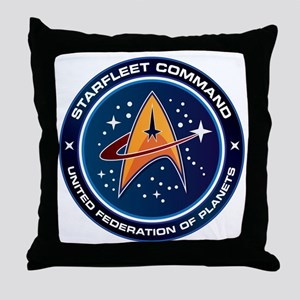 Star Trek Federation Of Planets Patch Throw Pillow