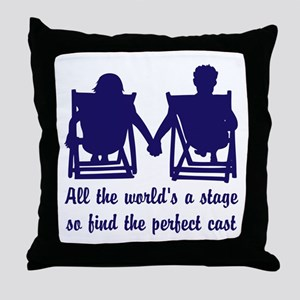 Find the Perfect Cast Throw Pillow