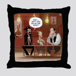 Billy The Goat Throw Pillow