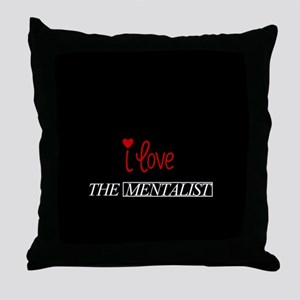 I love the mentalist Throw Pillow