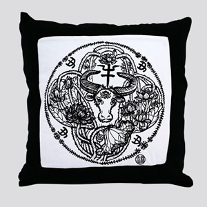 Chinese Zodiac – Ox Throw Pillow
