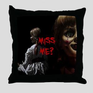 Miss Me Throw Pillow