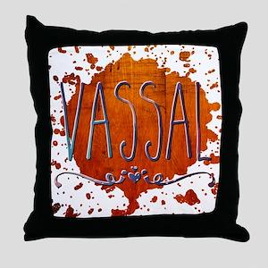 Vassal Throw Pillow