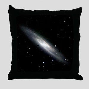 Spiral galaxy NGC 253 - Throw Pillow