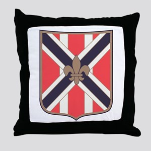 111th Army Field Artillery Battalion. Throw Pillow