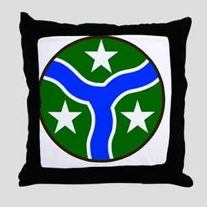 ARNG-278th-Armored-Cav-Reg-Bonnie Throw Pillow