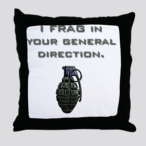 Frag Throw Pillow