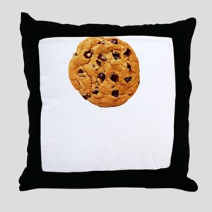 Cookie Inspector White SOT Throw Pillow