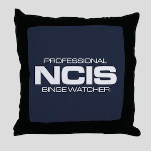 Professional NCIS Binge Watcher Throw Pillow