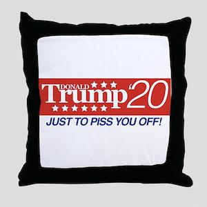 Donald Trump '20 Throw Pillow