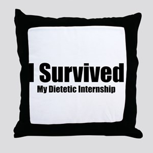 Dietetic Intern Throw Pillow
