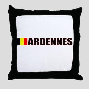 Ardennes, Belgium Throw Pillow