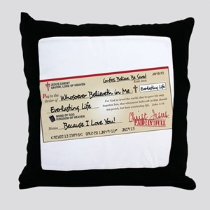 Paid in Full Throw Pillow