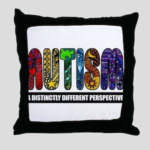 BEST Autism Awareness Throw Pillow