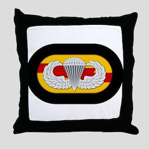 75th Ranger Airborne Throw Pillow