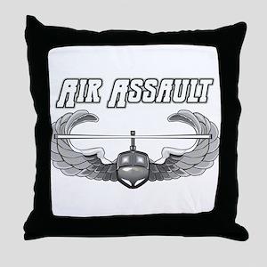 Army Air Assault Throw Pillow