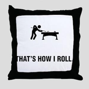 Billiard / Pool Throw Pillow