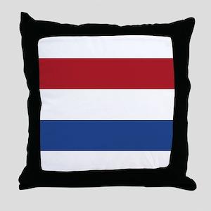 Holland Flag Throw Pillow