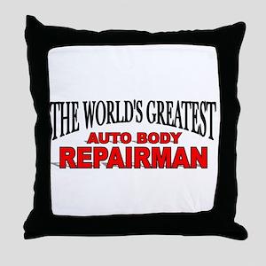 """The World's Greatest Auto Body Repairman"" Throw P"