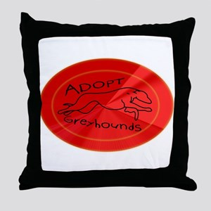 Even More Greyhounds! Throw Pillow