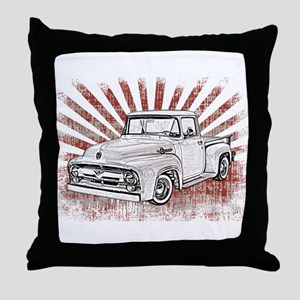 1956 Ford Truck Throw Pillow