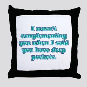 Dental Hygienist Presents Throw Pillow