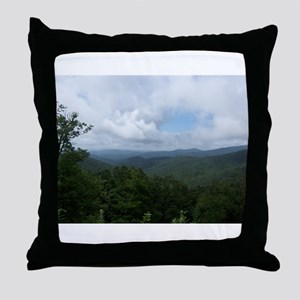 Blue Ridge Parkway - Asheville, NC Throw Pillow