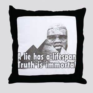 Black History truth Throw Pillow