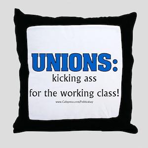 Union Class Throw Pillow