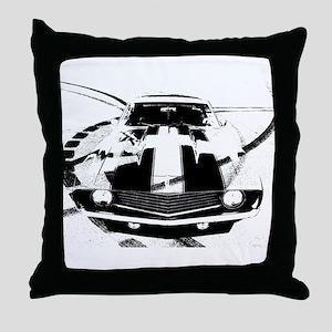 Camaro Style Throw Pillow