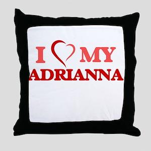 I love my Adrianna Throw Pillow